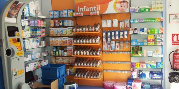 estanterias farmacia 2